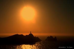 puesta de sol cabo vilan