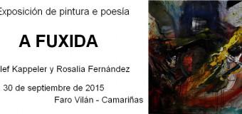 """Exposición de pintura y poesía """"A Fuxida"""""""
