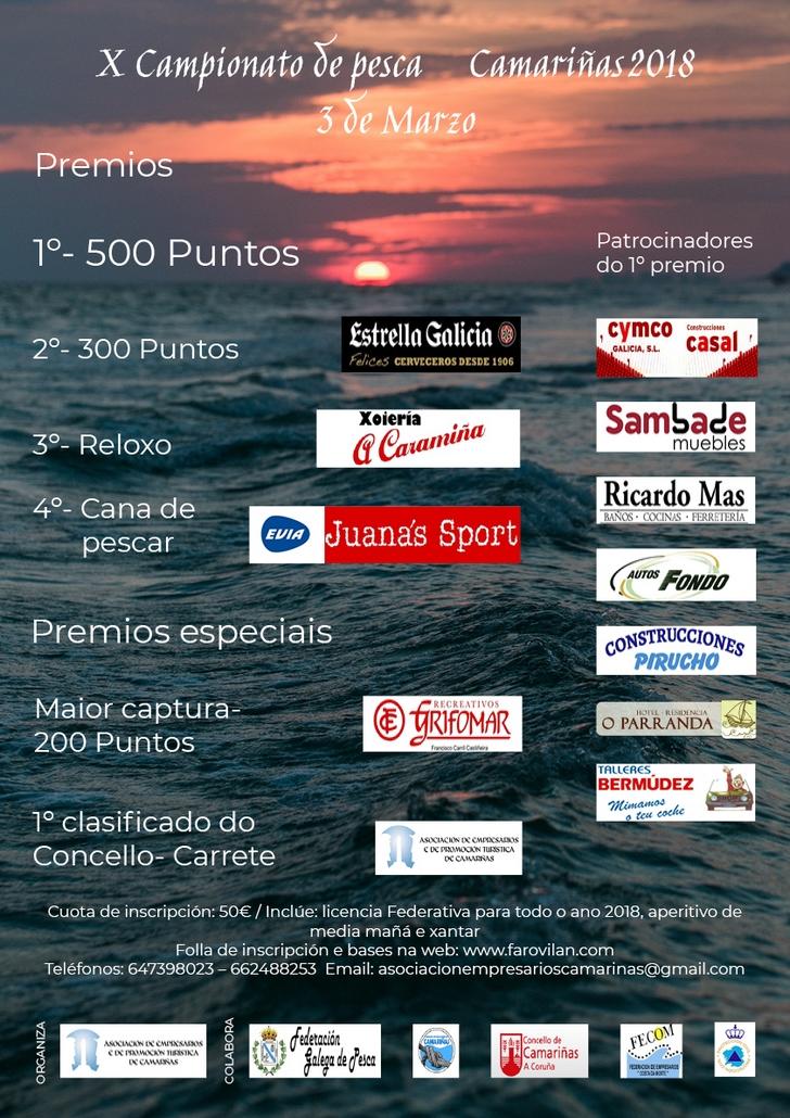 campionato pesca Camariñas