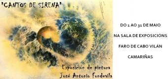 "Exposición de pintura ""Cantos de Sirena"" de Fondevila"