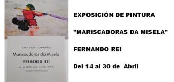 Exposición de pintura «Mariscadoras da Misela»