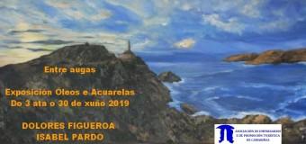 Exposición de pintura «Entre augas»