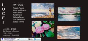 Exposición de pintura «LUCET»
