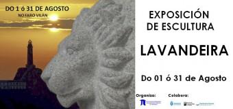 EXPOSICIÓN DE ESCULTURA LAVANDEIRA