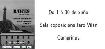 Exposición de escultura «Raíces»