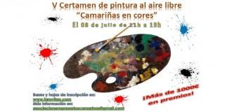 Certamen de pintura al aire libre «Camariñas en cores»